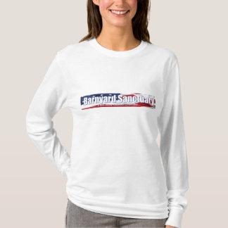 Camiseta O SleeveTshirt longo da mulher do Barnyard
