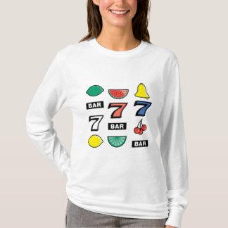 Camiseta O slot machine entalha frutas - jogo para ganhar