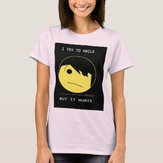 """Camiseta O SMILEY de EMO (Emotioncons!!) """"fere para sorrir"""