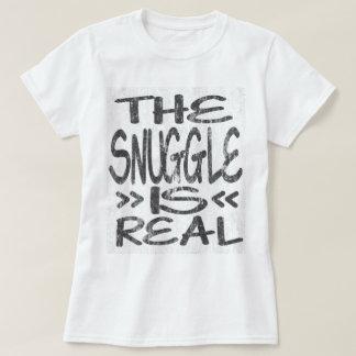 Camiseta O Snuggle é DS real