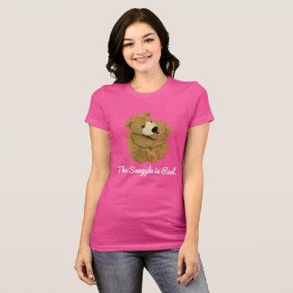 Camiseta O Snuggle é T real