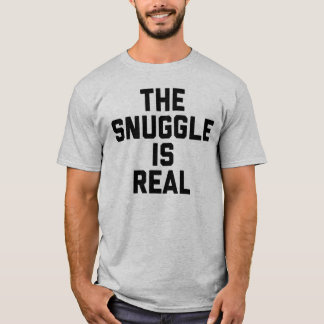 Camiseta O Snuggle é t-shirt real