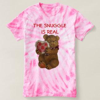 Camiseta O Snuggle é urso de ursinho real