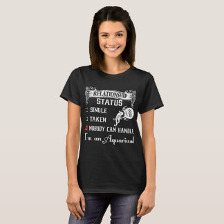 Camiseta O solteiro não tomado ninguém pode segurar o T do