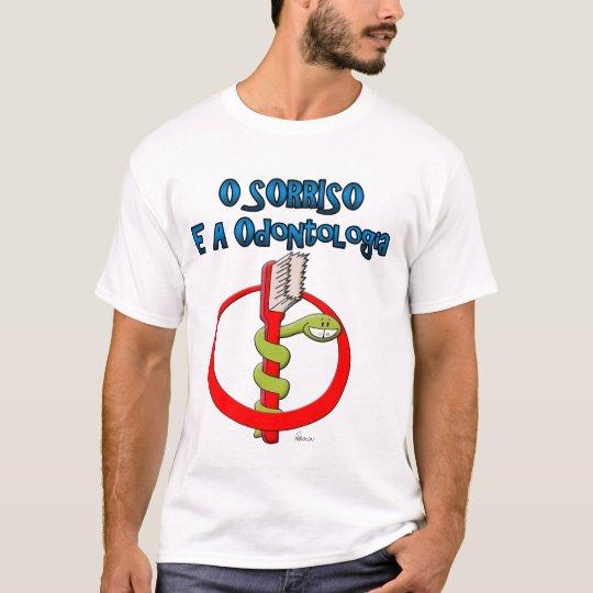 Camiseta O Sorriso e a Odontologia