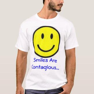 Camiseta O sorriso é contagioso