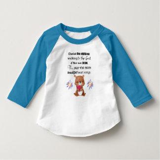 Camiseta O Special precisa os miúdos inspirados, canções do