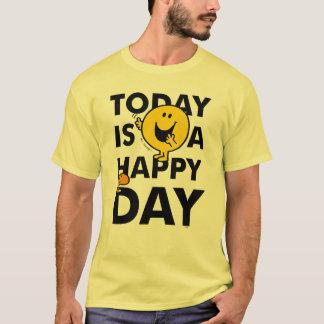 Camiseta O Sr. Feliz   é hoje um dia feliz