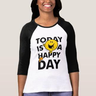 Camiseta O Sr. Feliz | é hoje um dia feliz