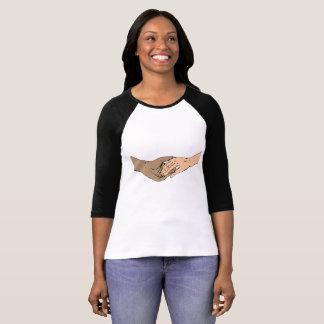 Camiseta O SSA entrega 3/4 de T do basebol da luva