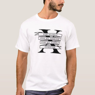 Camiseta O Straightedge, Tee para sempre