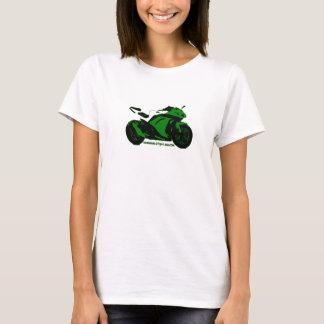 Camiseta O streetbike T da mulher