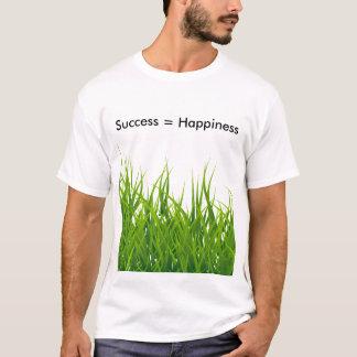 Camiseta O sucesso é felicidade