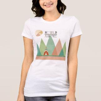Camiseta O sudoeste Geo II| esteja selvagem e livre