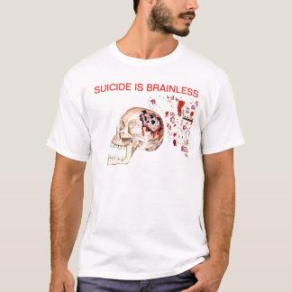 Camiseta O suicídio é Brainless