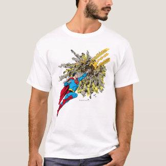 Camiseta O superman para um meteoro