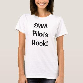 Camiseta O SWA pilota a rocha!