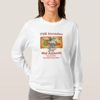 Camiseta O T 2015 de recolhimento Longo-Sleeved das
