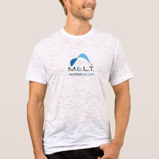 Camiseta O T afligido dos homens