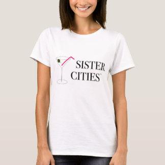 Camiseta O T básico das mulheres - Martini