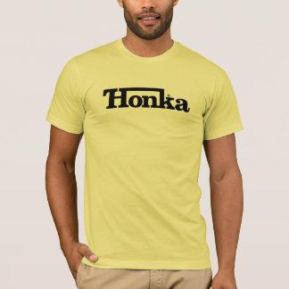 Camiseta O T básico dos homens de Honka