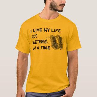 Camiseta O T básico dos homens - vida 400 medidores de cada