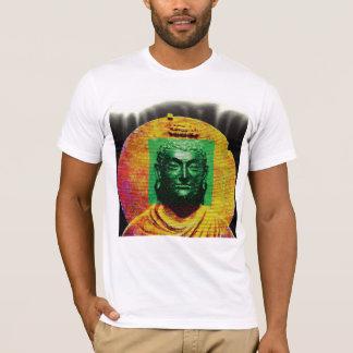 Camiseta O T branco dos homens do impressão de Buddha