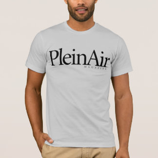 Camiseta O T claro dos homens do compartimento de PleinAir