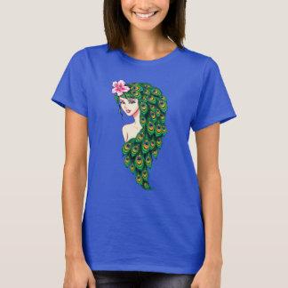 Camiseta O T clássico das mulheres requintados da arte da