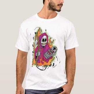 Camiseta O T da ceifeira