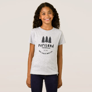 Camiseta O T da menina do Pararescue de Portland
