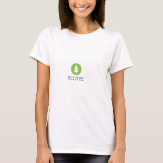 Camiseta O T da mulher de EcoTee
