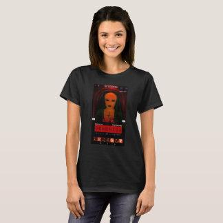 Camiseta O T da mulher do ITC da caixa de Demonica por Dave