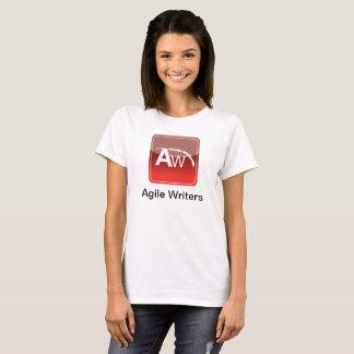 Camiseta O T das mulheres AWCON18