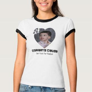 Camiseta O T das mulheres da causa de Corbin