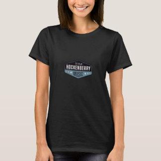 Camiseta O T das mulheres de Hockenberry