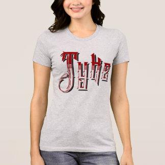 Camiseta O T das mulheres do calão de Yorskshire do Tyke