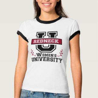 Camiseta O T das mulheres do campónio