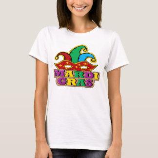 Camiseta O T das mulheres do carnaval
