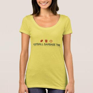 Camiseta O T das mulheres do logotipo da substituição do