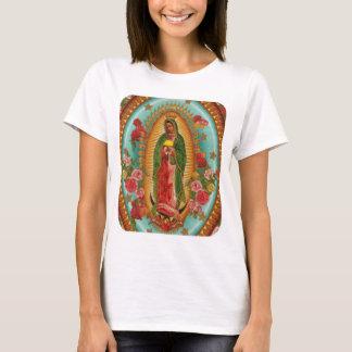 Camiseta O T das mulheres do santo do Taco