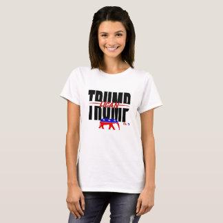 Camiseta O T das mulheres do Trunfo-lican