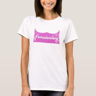 Camiseta O T das mulheres engraçadas de Femalevolent