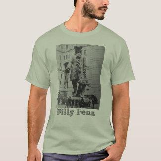 Camiseta O T de Billy Penn comemora o fundador de