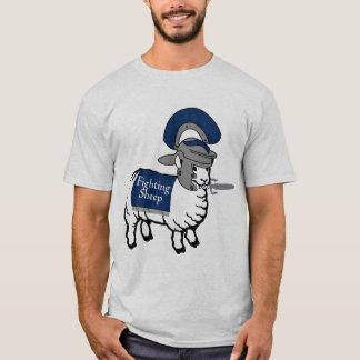 Camiseta O T de combate do impulsionador dos carneiros