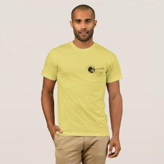 Camiseta O T de homens de Banjo Empresa de Americano