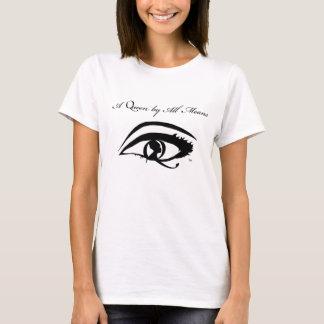 Camiseta O T de uma rainha