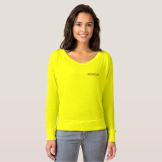 Camiseta O T de Wikgal para mulheres