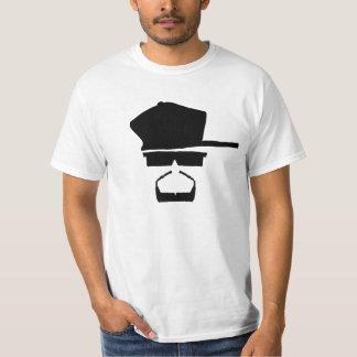 Camiseta O T do branco do lugar