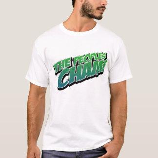 Camiseta O T do campeão dos povos